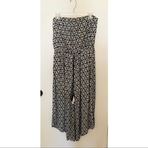 Target Mossimo Black and White Jumpsuit